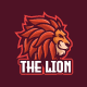Lion Wild Animal Mascot Character Logo Template - GraphicRiver Item for Sale