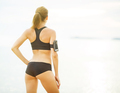 Beautiful woman in sports clothing before training - PhotoDune Item for Sale