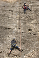 Climbers on a granite wall. Extreme sport. Outdoor mountain activity - PhotoDune Item for Sale