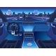 Autonomous Car Interior with Digital Dashboard - GraphicRiver Item for Sale