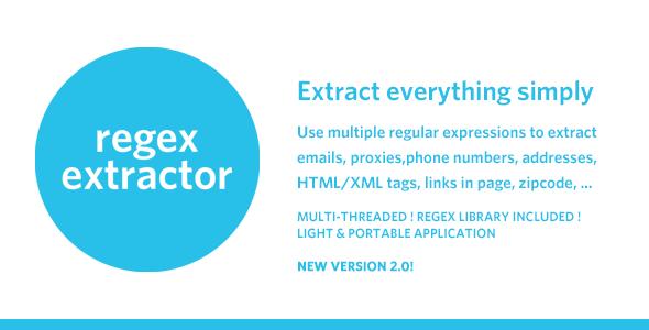 RegEx Extractor - wyodrębnij wszystko po prostu!