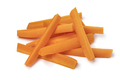 Heap of fresh raw carrot sticks as a snack - PhotoDune Item for Sale