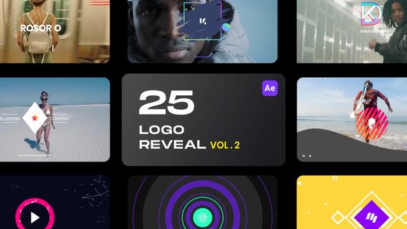 25 Logo Reveal Bundle - Vol 2