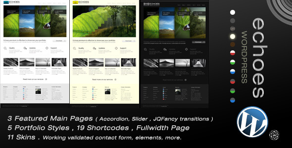 Echoes | Wordpress Theme