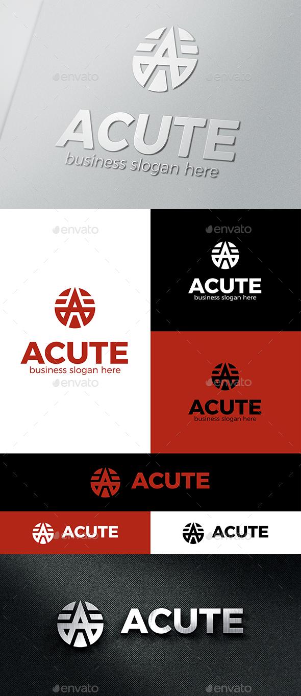 A Logo Abstract - Acute