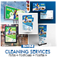 Cleaning Company Promotional Print Template Bundle - GraphicRiver Item for Sale