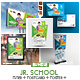School Promotional Print Template Bundle - GraphicRiver Item for Sale