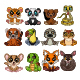 Set of Twelve Cartoon Little Animal Collection - GraphicRiver Item for Sale