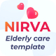 NIRVA   Elderly Care and Old Age Home Website Template - ThemeForest Item for Sale