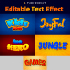 Kid Zone 3d Text Style Effect - GraphicRiver Item for Sale