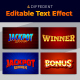 Jackpot Winner 3d Text Style Effect - GraphicRiver Item for Sale