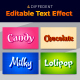 Candy Text Style Effect Template - GraphicRiver Item for Sale