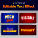 Promotions 3D Text Style Effect - GraphicRiver Item for Sale