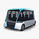 Electric Unmanned City Bus v 1 - 3DOcean Item for Sale