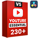 Youtube Essential Library   DaVinci Resolve - VideoHive Item for Sale