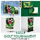 Golf Tournamet Print Template Bundle - GraphicRiver Item for Sale