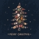 Christmas Greeting Card with Illustration  - GraphicRiver Item for Sale