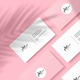 Business Card Mockup with Shadow Overlay - GraphicRiver Item for Sale