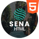 Sena - Responsive One Page Parallax Template - ThemeForest Item for Sale
