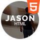 Jason - Personal Portfolio Template - ThemeForest Item for Sale