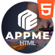 AppMe - App Landing Page Template - ThemeForest Item for Sale