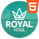 Royal - Responsive One Page Parallax Template - ThemeForest Item for Sale