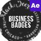 Business Vintage Badges - VideoHive Item for Sale
