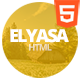 Elyasa - Creative Coming Soon Template - ThemeForest Item for Sale