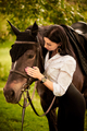 Young woman with a horse - PhotoDune Item for Sale