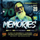 Memories Club Party Flyer - GraphicRiver Item for Sale