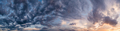 Natural background of the colorful panorama sky, During the time sunset - PhotoDune Item for Sale