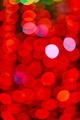 Out of focus red lights in the city night. Colorful background - PhotoDune Item for Sale
