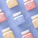 Small Square Pill Bottle Mockup - GraphicRiver Item for Sale