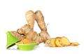 Root ginger, Zingiber officinalis. - PhotoDune Item for Sale