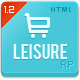 Leisure - Responsive E-commerce HTML5 Template - ThemeForest Item for Sale