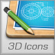 High-Res 3D Icons Pack - GraphicRiver Item for Sale