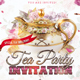 Tea Time Party Invitation - GraphicRiver Item for Sale