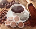 Cup of hot chocolate with pods. - PhotoDune Item for Sale