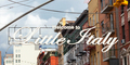 Welcome to Little Italy sign in Lower Manhattan. - PhotoDune Item for Sale