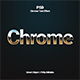 Chrome Text  Effect - GraphicRiver Item for Sale