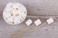 Bowl with marshmallows - PhotoDune Item for Sale