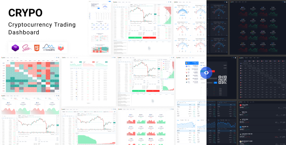 Crypo - Cryptocurrency Trading Dashboard HTML Template