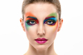 Beauty Fashion woman, Colorful Bright Art Makeup - PhotoDune Item for Sale