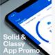 Solid App Promo 3d Mobile App Mockup Demonstration Video - VideoHive Item for Sale