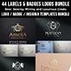 Badge Logos Bundle - GraphicRiver Item for Sale