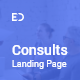 Consults – Consulting and Finance HTML Landing Page Template - ThemeForest Item for Sale