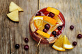 Apple cranberry orange sangria - PhotoDune Item for Sale