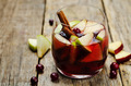 Red and green apple cranberry cinnamon sangria - PhotoDune Item for Sale