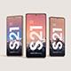 Galaxy S21 Smartphone Mockup - GraphicRiver Item for Sale