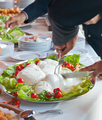 Sliced of Mozzarella in tray - PhotoDune Item for Sale